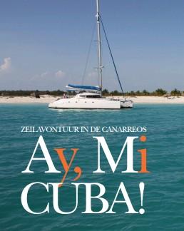 Artikel over zeilen in Cuba