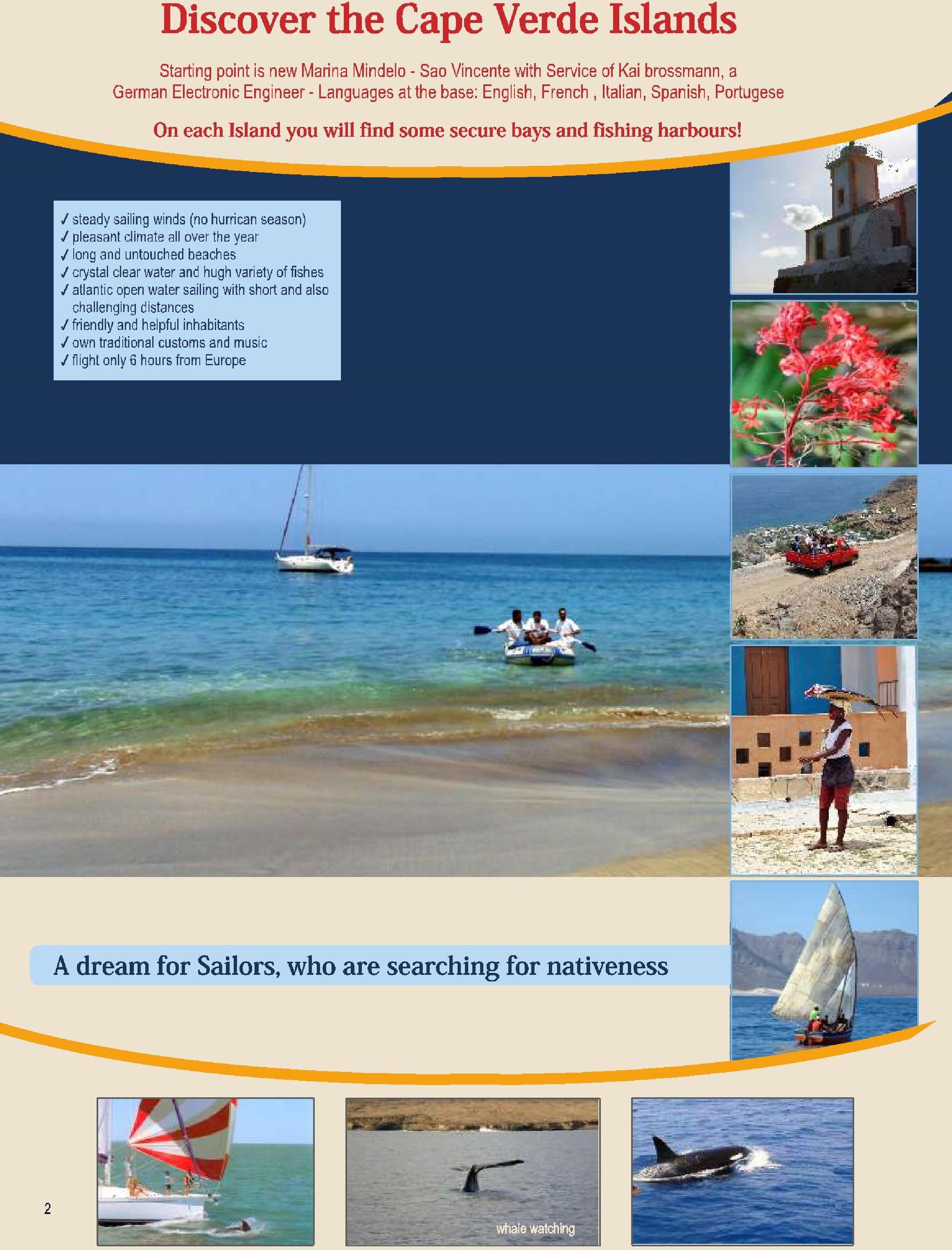 Kaap Verden zeilroutes 1