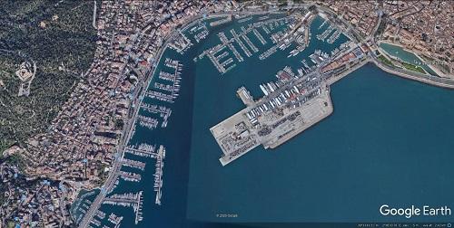 google earth Palma de Mallorca